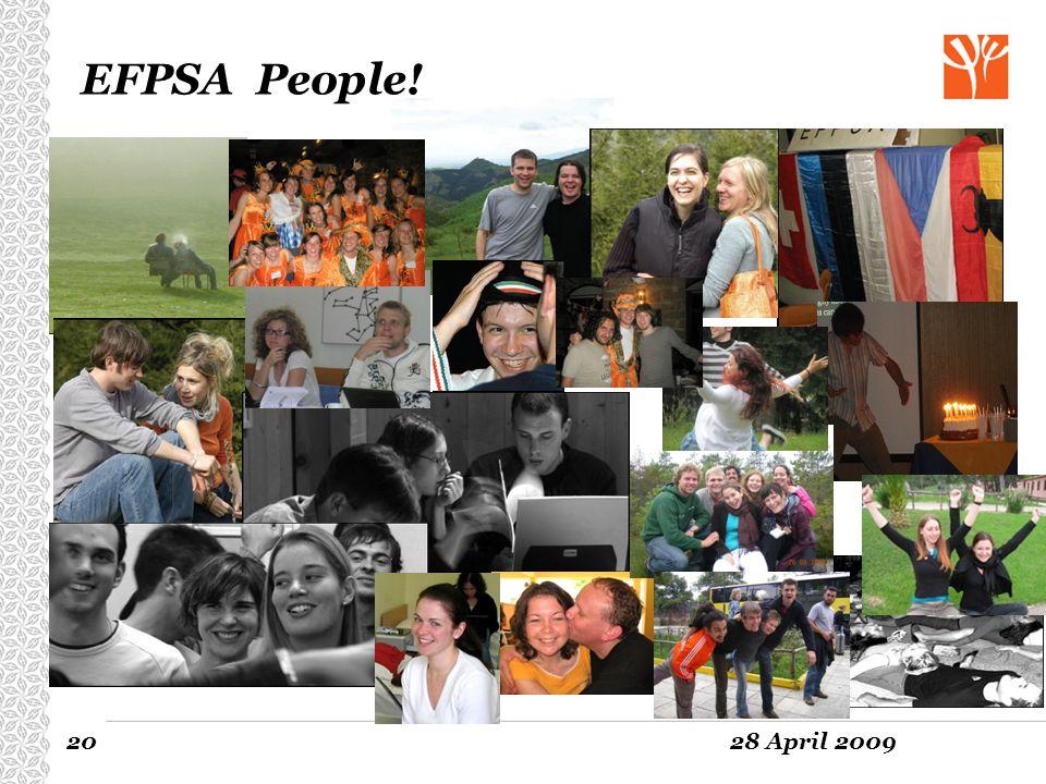 EFPSA People! www.efpsa.org www.efpsa.org 20