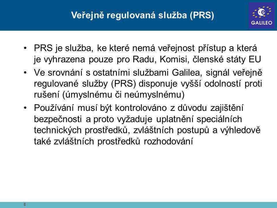 Veřejně regulovaná služba (PRS)