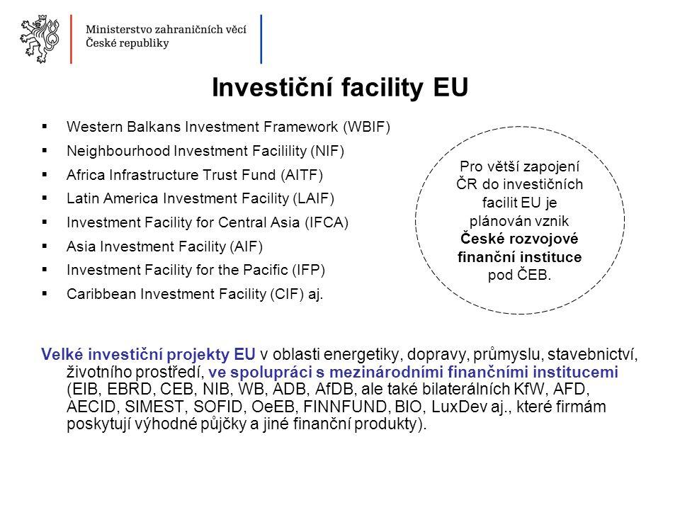 Investiční facility EU