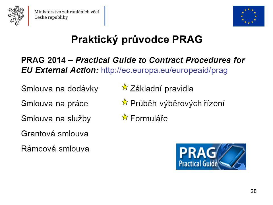 Praktický průvodce PRAG