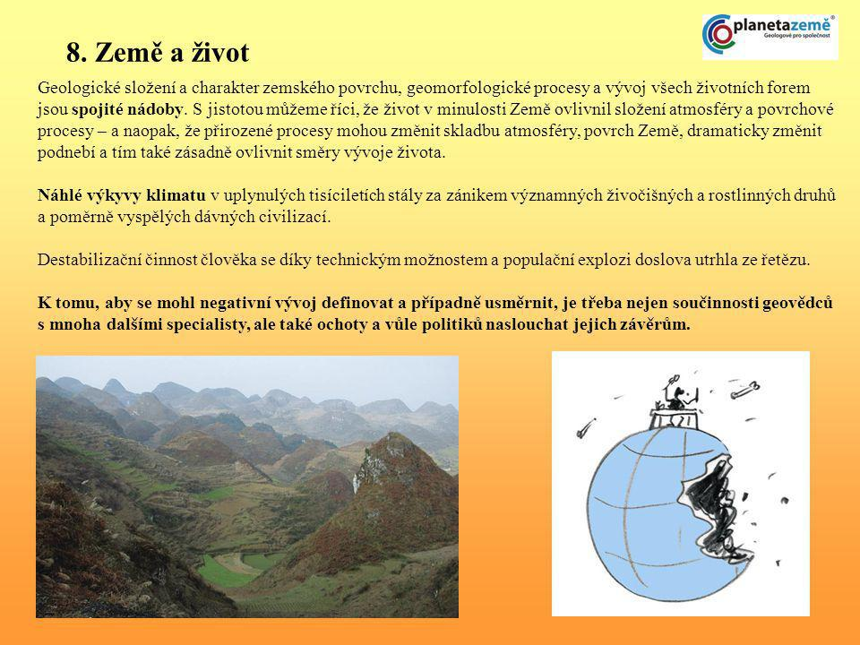 8. Země a život