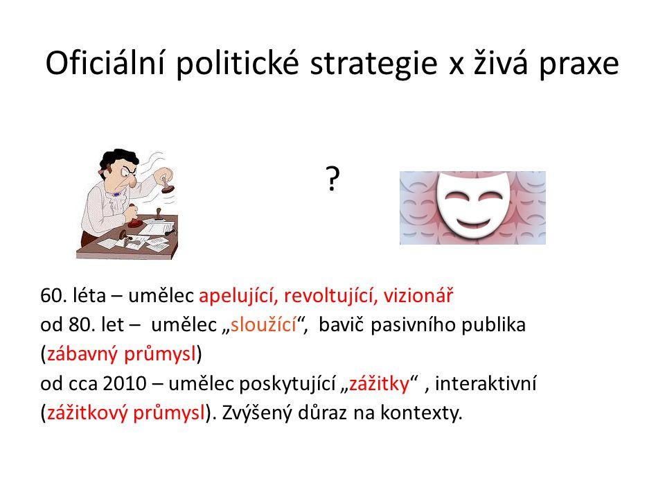 Oficiální politické strategie x živá praxe