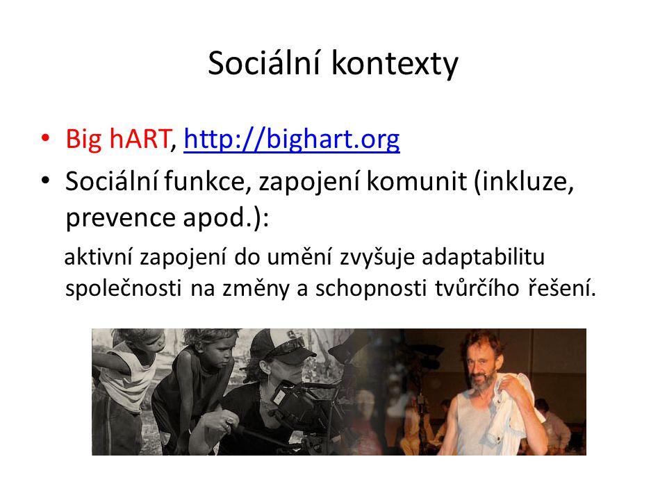 Sociální kontexty Big hART, http://bighart.org