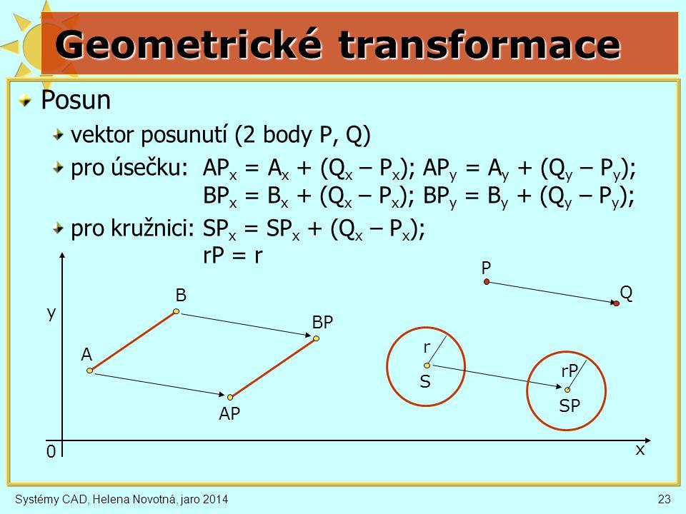 Geometrické transformace