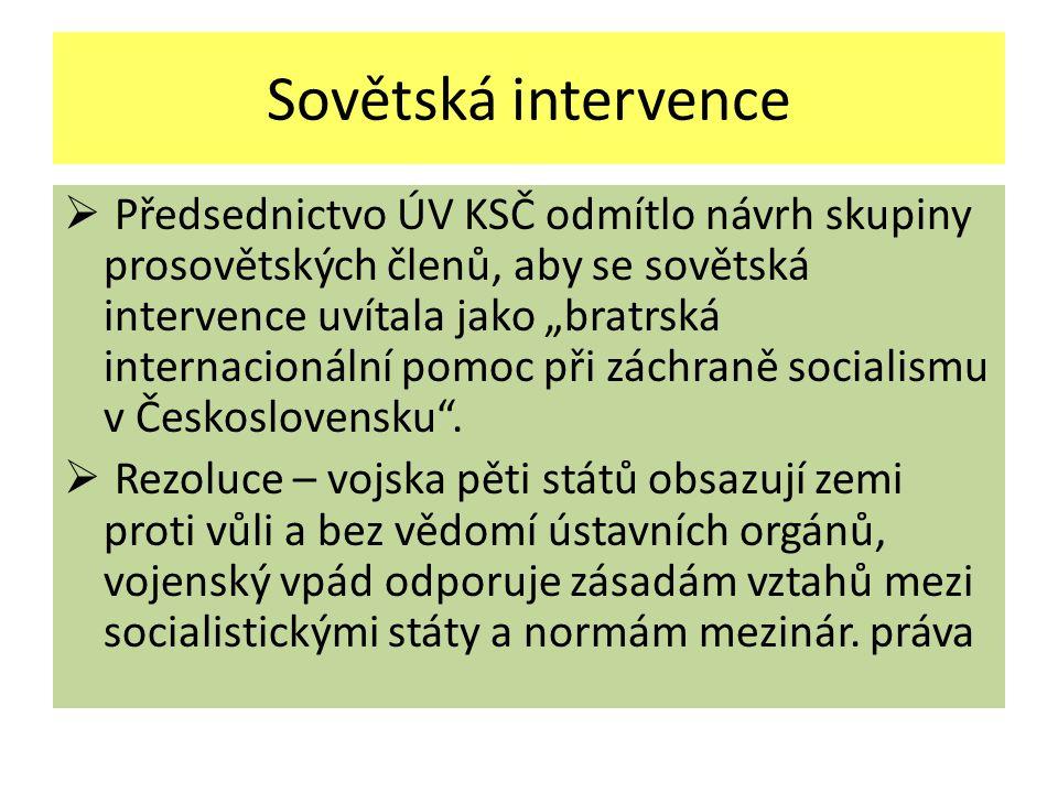 Sovětská intervence