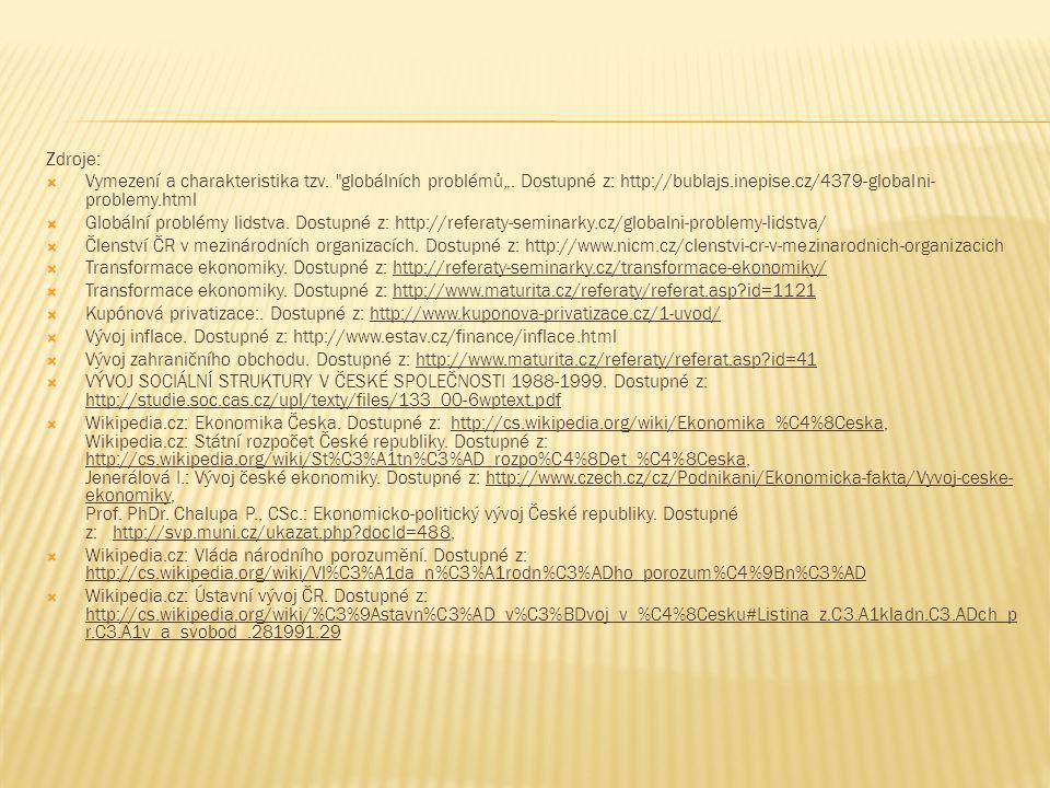 """Zdroje: Vymezení a charakteristika tzv. globálních problémů"""". Dostupné z: http://bublajs.inepise.cz/4379-globalni-problemy.html."""