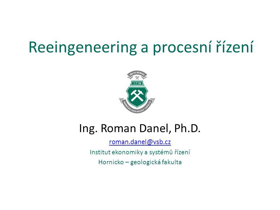 Reeingeneering a procesní řízení