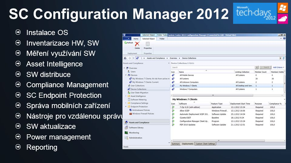 SC Configuration Manager 2012
