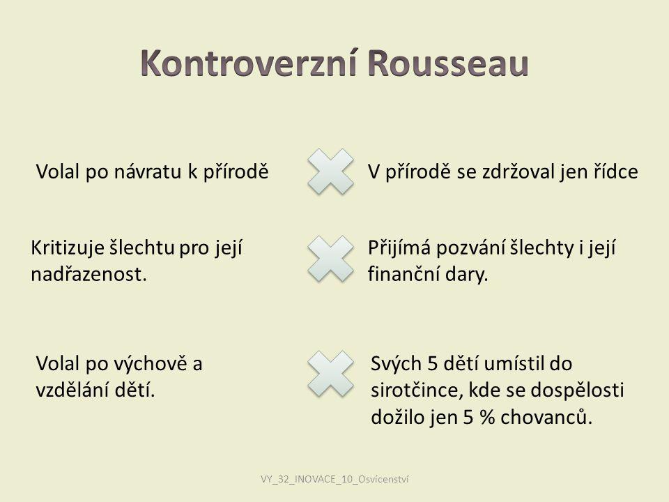 Kontroverzní Rousseau