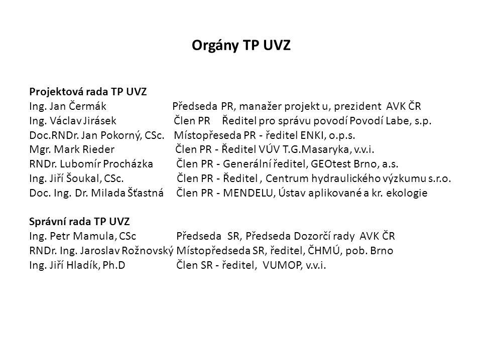 Orgány TP UVZ