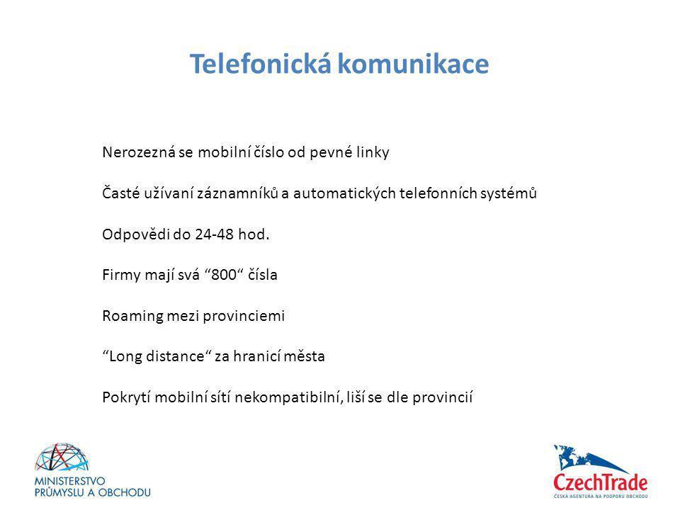 Telefonická komunikace