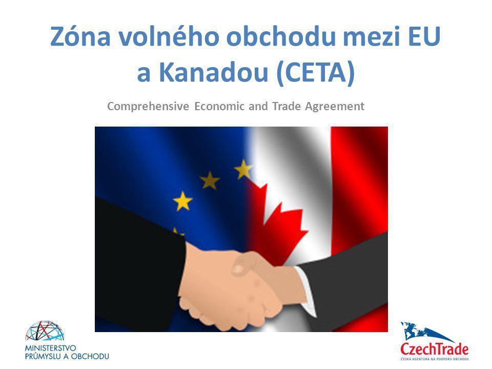 Zóna volného obchodu mezi EU a Kanadou (CETA)
