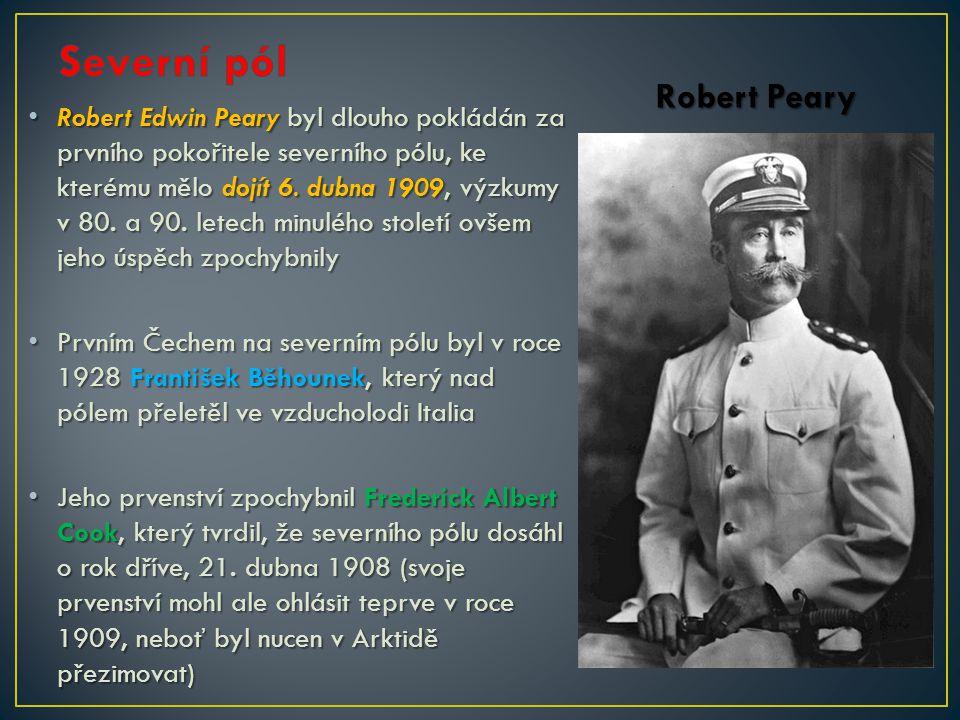 Severní pól Robert Peary