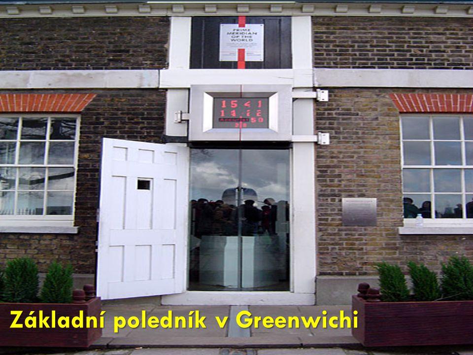 Základní poledník v Greenwichi