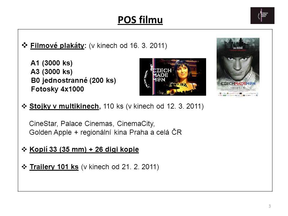 POS filmu Filmové plakáty: (v kinech od 16. 3. 2011) A1 (3000 ks)