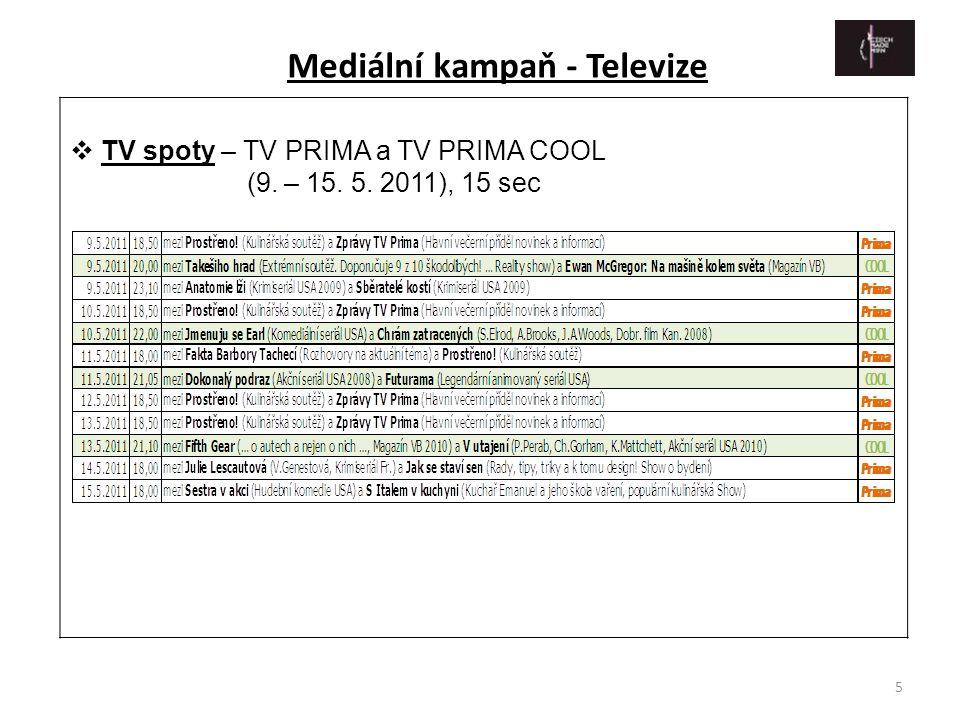 Mediální kampaň - Televize
