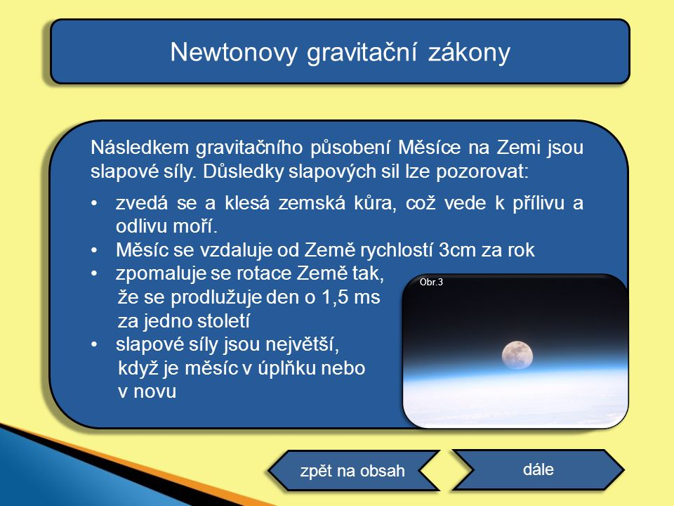 Newtonovy gravitační zákony