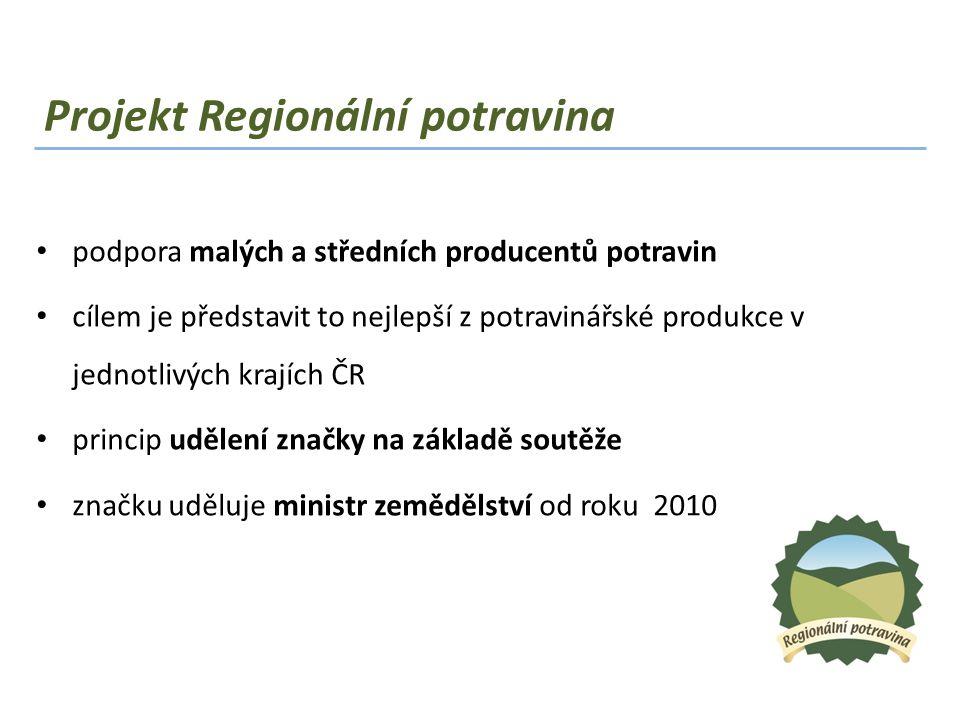 Projekt Regionální potravina