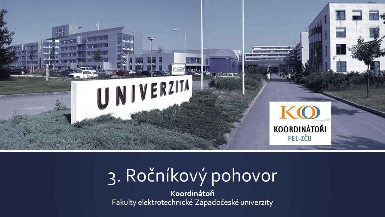 Koordinátoři Fakulty elektrotechnické Západočeské univerzity