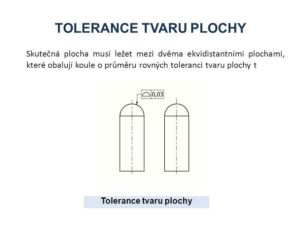 TOLERANCE TVARU PLOCHY