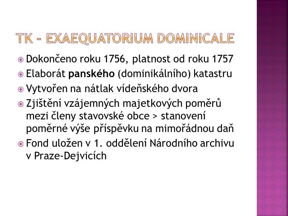 TK - Exaequatorium dominicale
