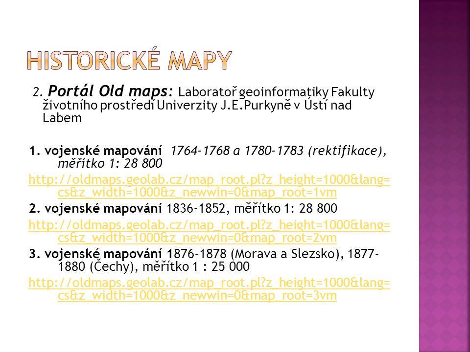 Historické mapy