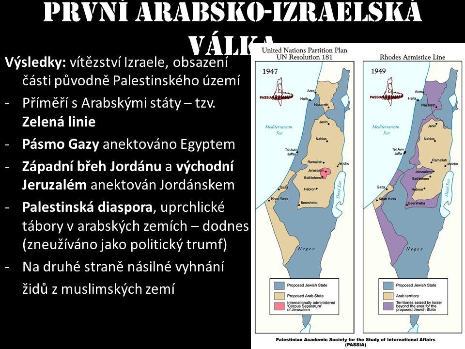 První arabsko-izraelská válka