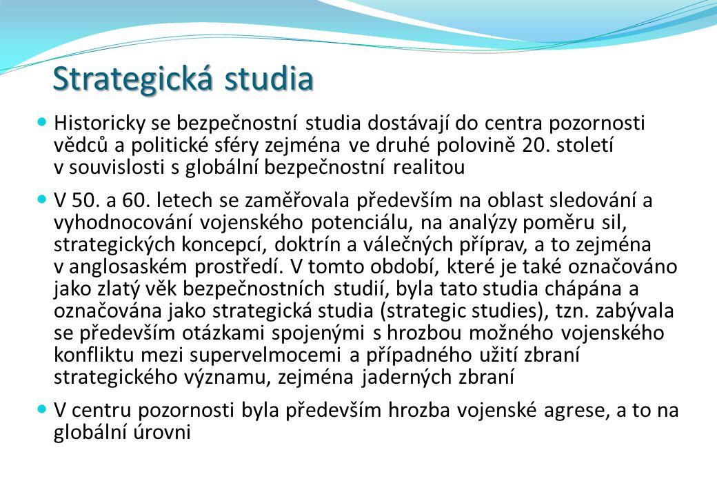 Strategická studia