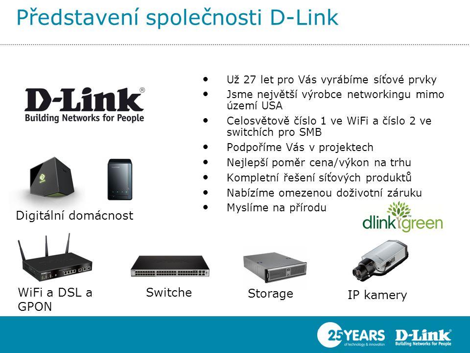 Představení společnosti D-Link
