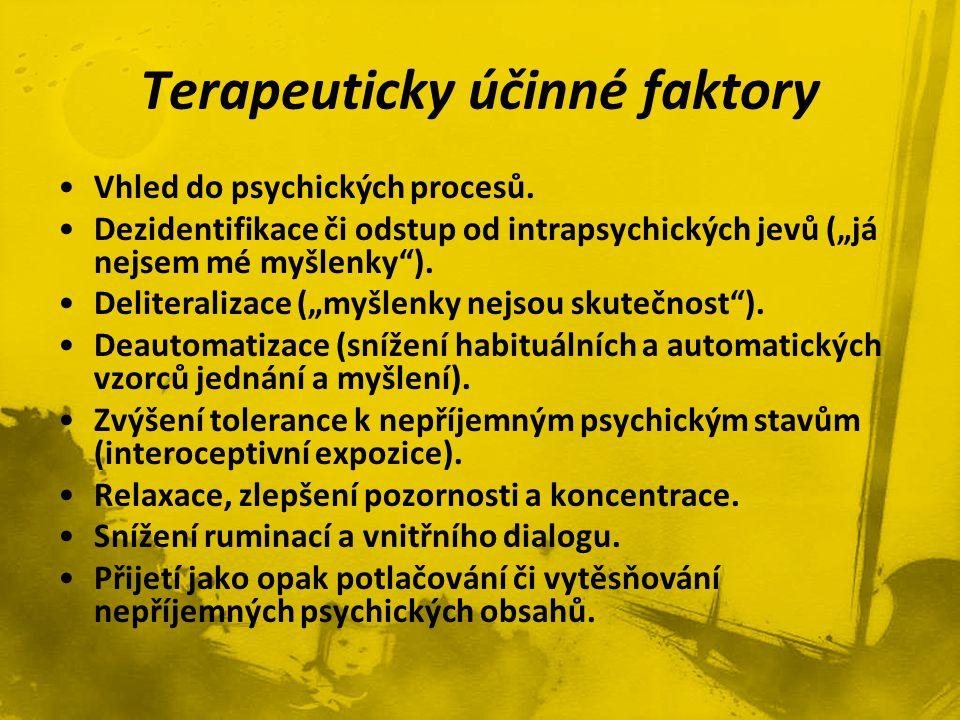 Terapeuticky účinné faktory