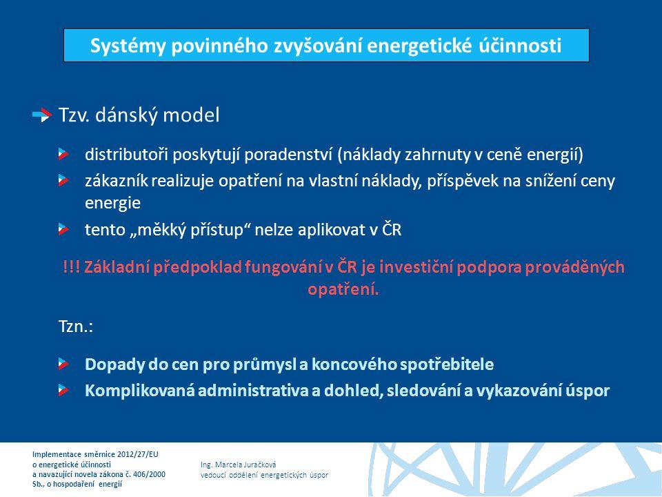 Systémy povinného zvyšování energetické účinnosti