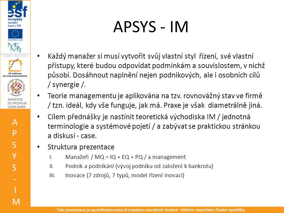 APSYS - IM
