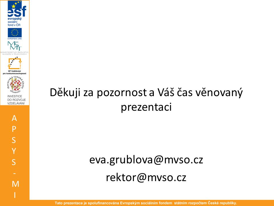 Děkuji za pozornost a Váš čas věnovaný prezentaci eva. grublova@mvso
