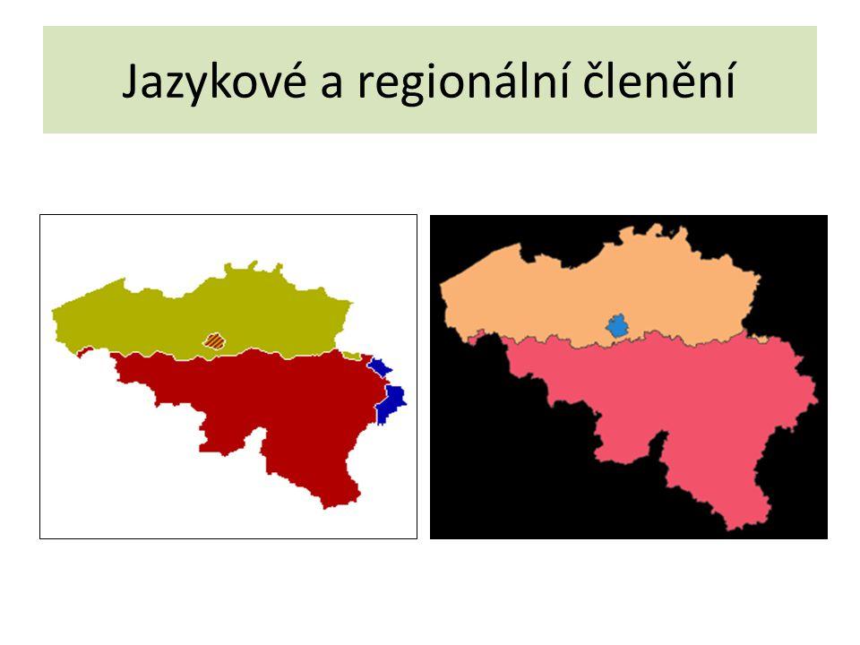 Jazykové a regionální členění
