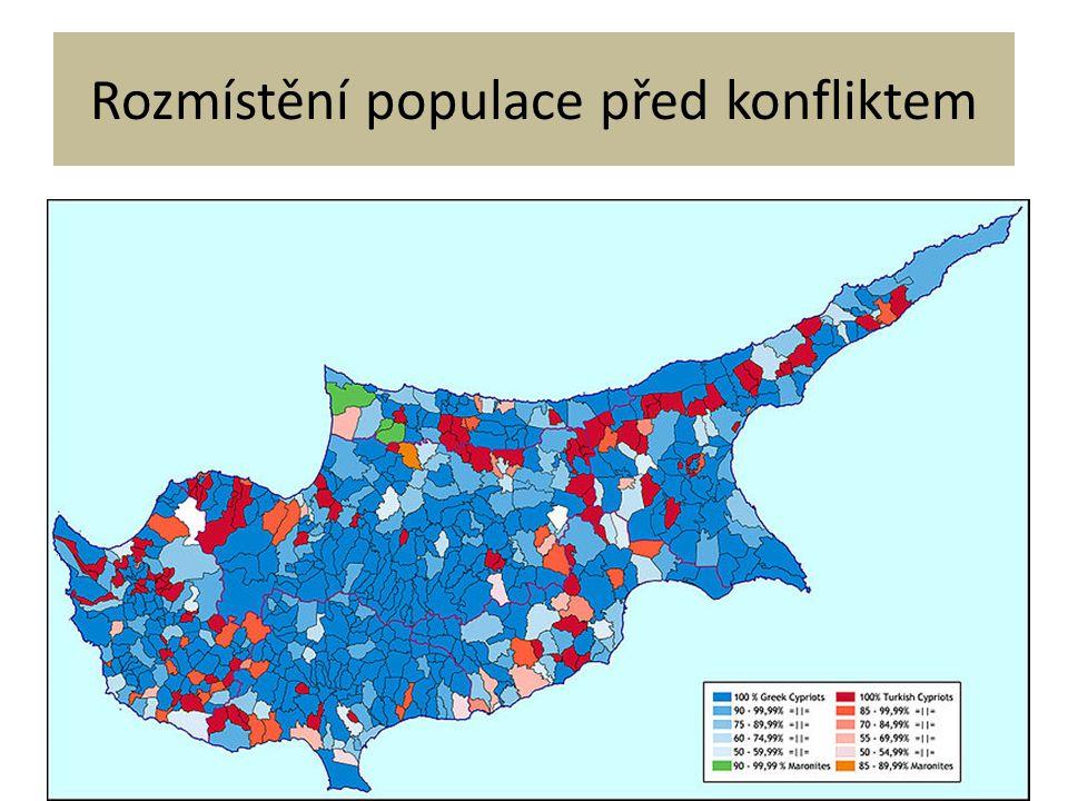 Rozmístění populace před konfliktem