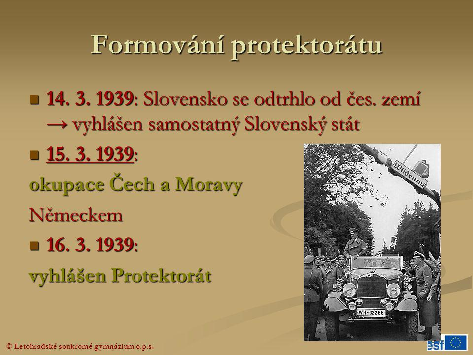 Formování protektorátu