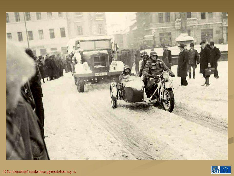 Fotografie z okupace Turnovska