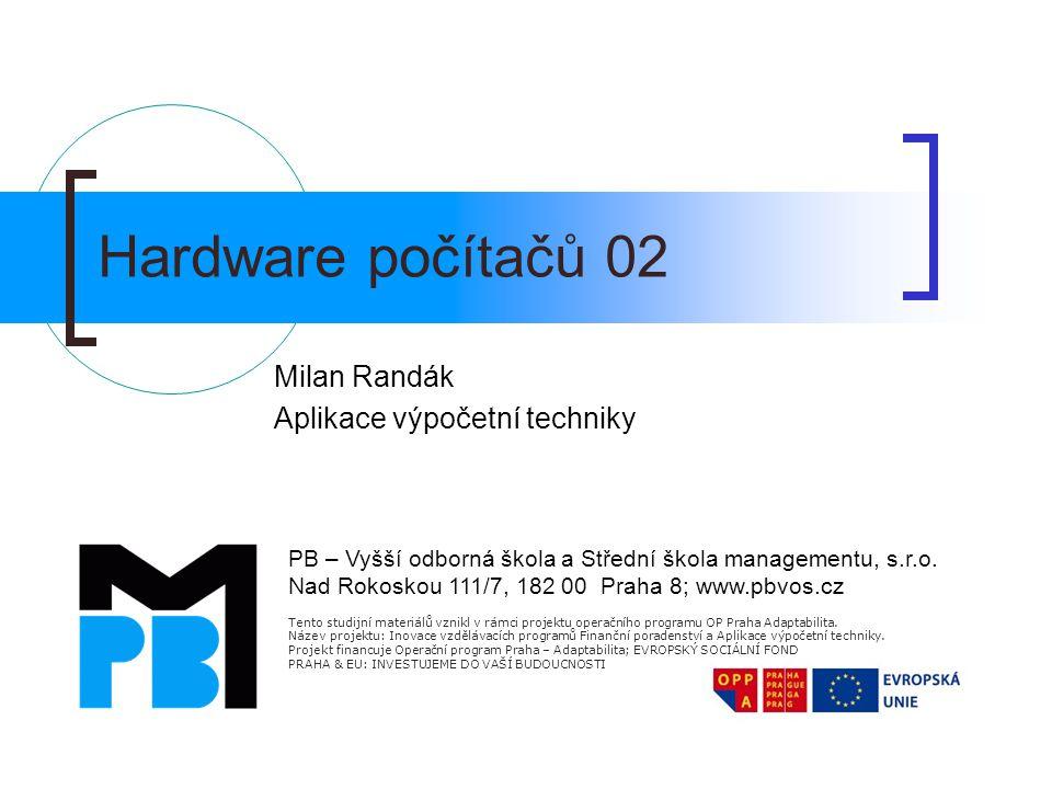 Milan Randák Aplikace výpočetní techniky