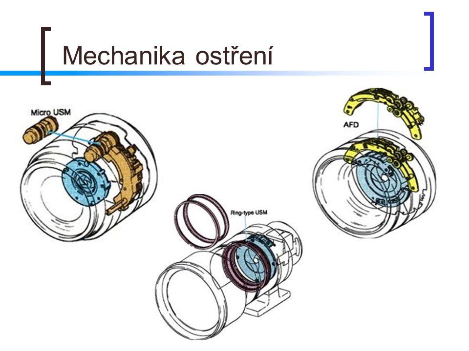 Mechanika ostření