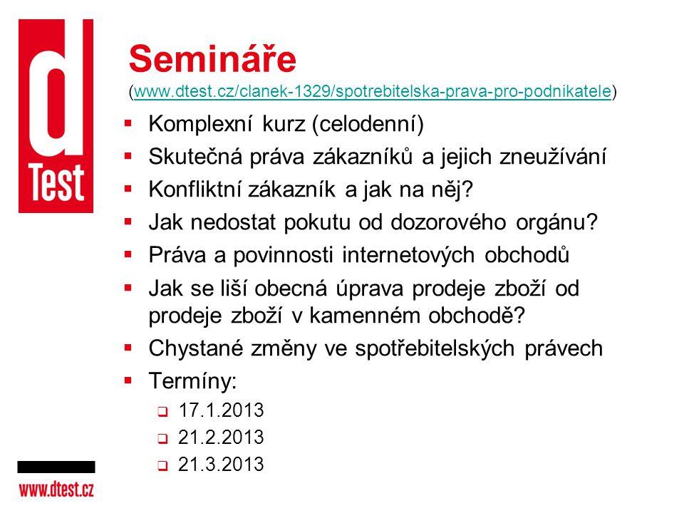 Semináře (www.dtest.cz/clanek-1329/spotrebitelska-prava-pro-podnikatele)