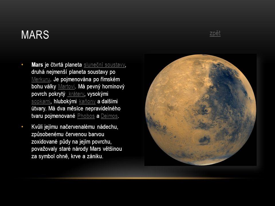 Mars zpět.