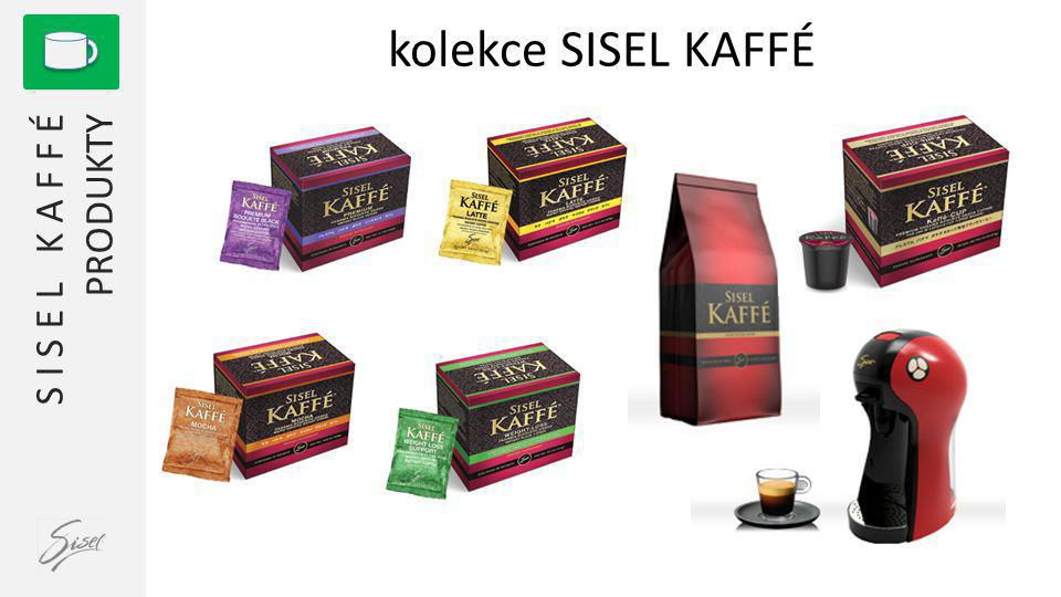 kolekce SISEL KAFFÉ 1 S I S E L K A F F É PRODUKTY
