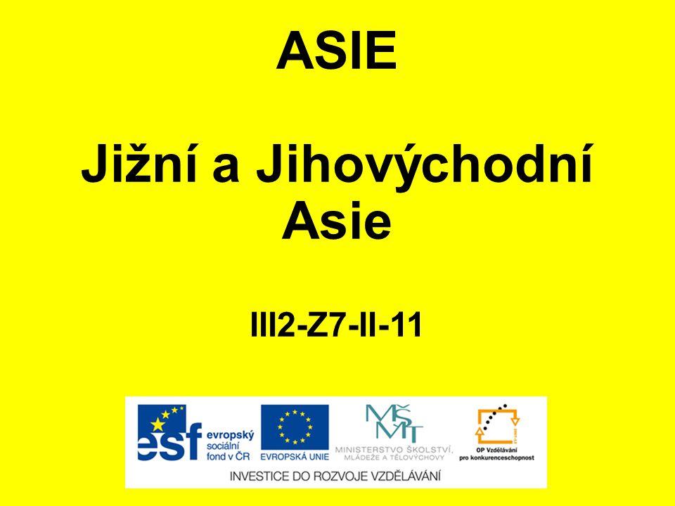 Jižní a Jihovýchodní Asie III2-Z7-II-11