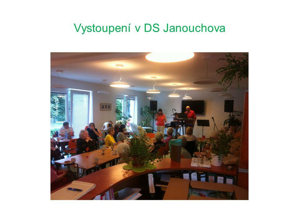 Vystoupení v DS Janouchova