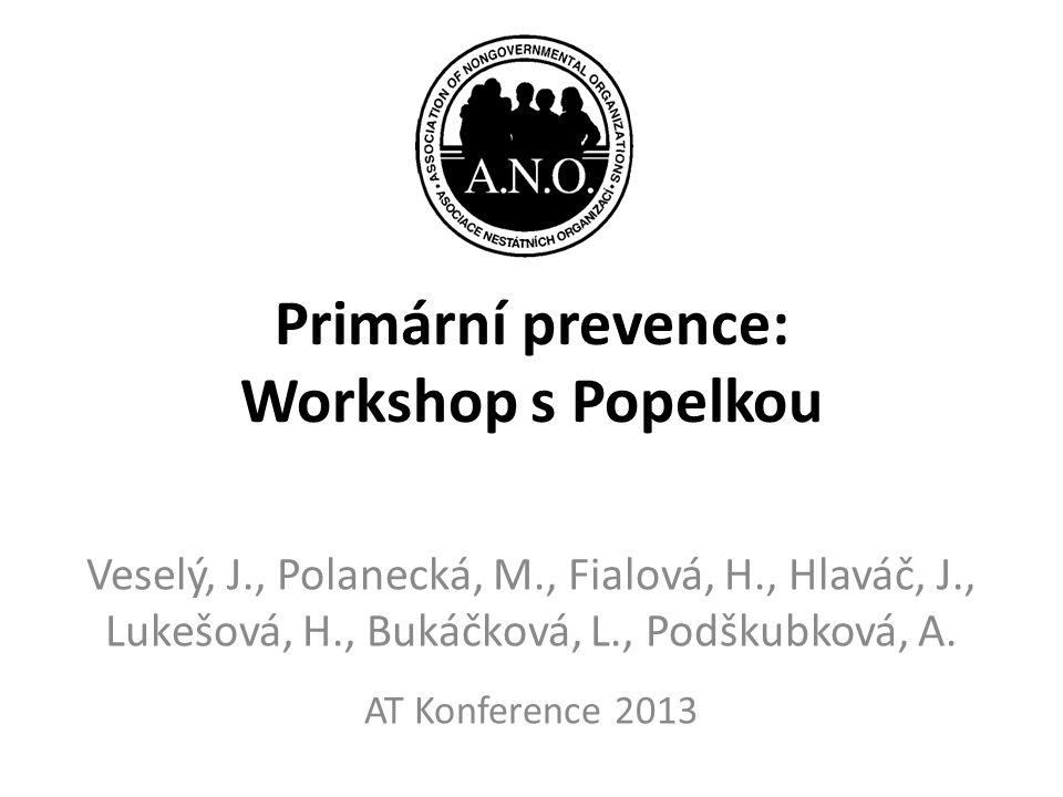 Primární prevence: Workshop s Popelkou