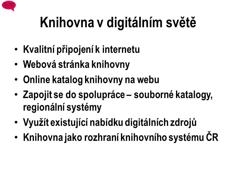 Knihovna v digitálním světě