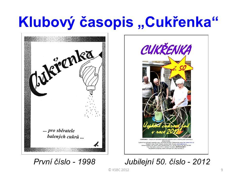 """Klubový časopis """"Cukřenka"""