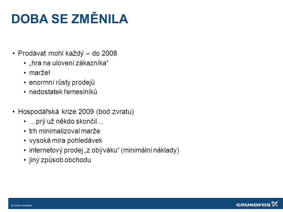 DOBA SE ZMĚNILA Prodávat mohl každý – do 2008