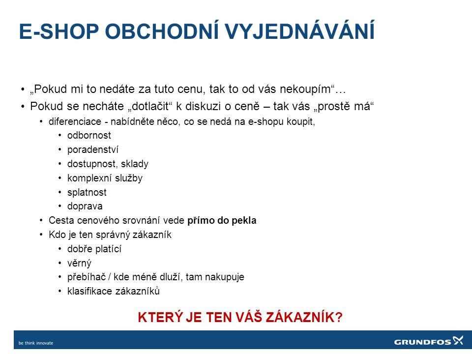 E-SHOP OBCHODNÍ VYJEDNÁVÁNÍ