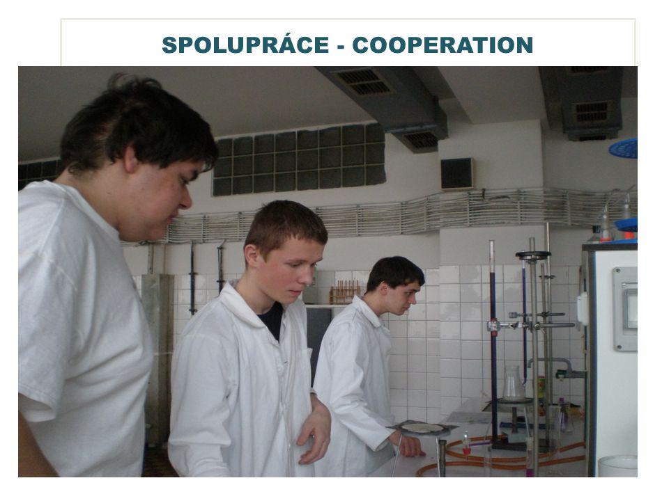 SPOLUPRÁCE - COOPERATION